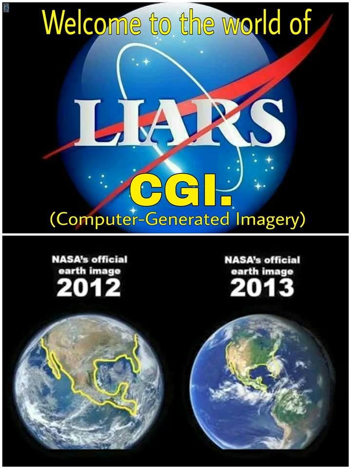 """NASA are satanic lying actors with special movie effects. Nasa in Hebrew means """"to decive"""""""