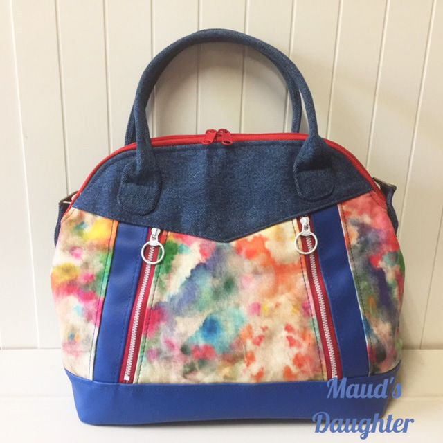 Sew Sweetness Sublime Bag sewing pattern, sewn by Tracy of Maud's Daughter
