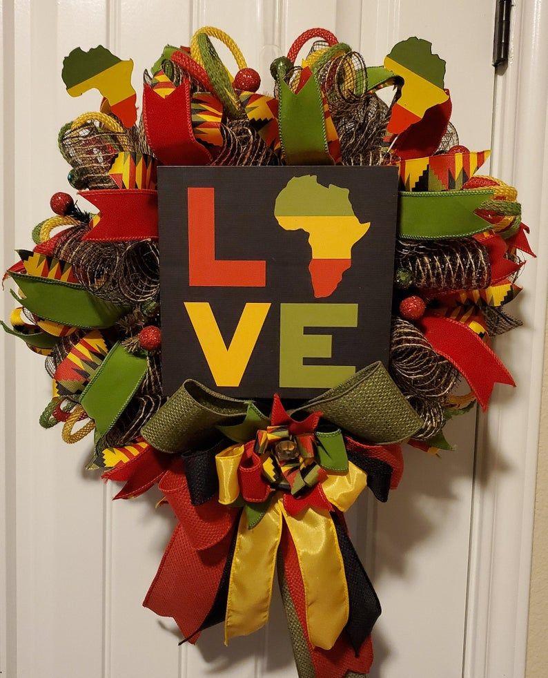 Photo of Black History Love Wreath