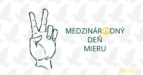 Slobodný je FREE a obloha SKY, MIER sa povie PEACE a láska LOVE...  ✌ 😉 Užite si Medzinárodný deň mieru v MIERI! (y) www.archeus.sk