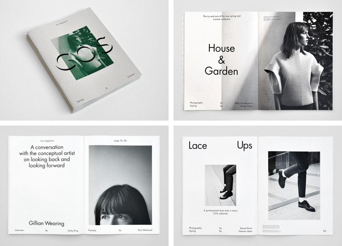 jenny eneqvist studio for cos lookbook design lookbook