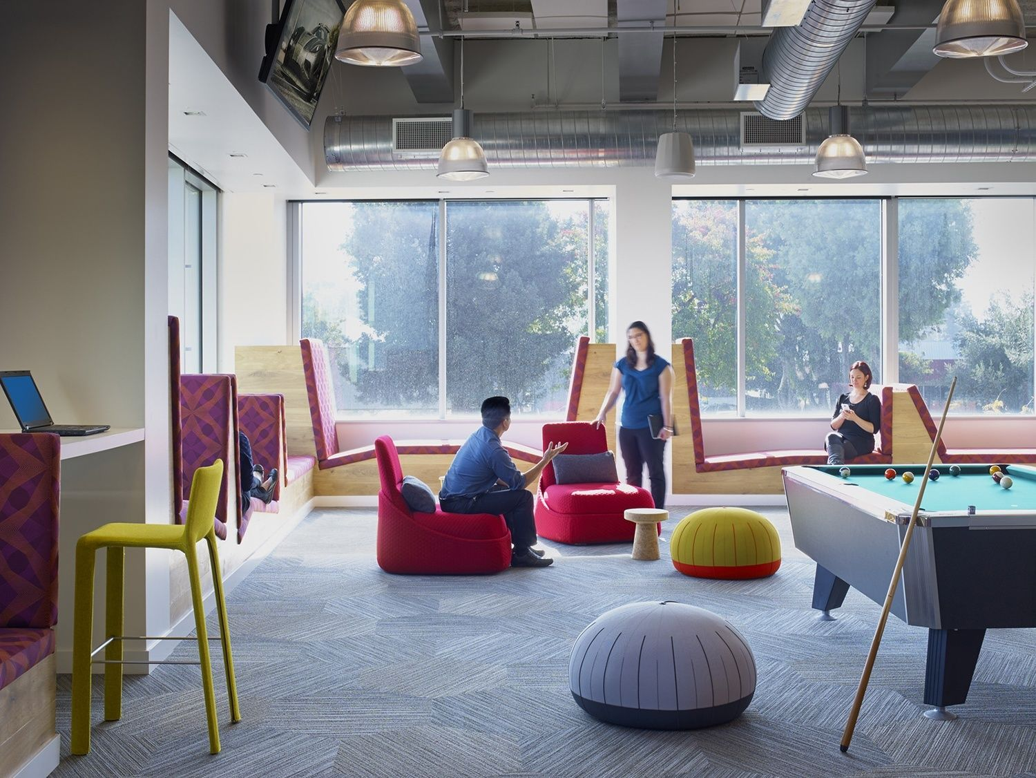 Take a Look at LinkedIn's New Sunnyvale Office Дизайн