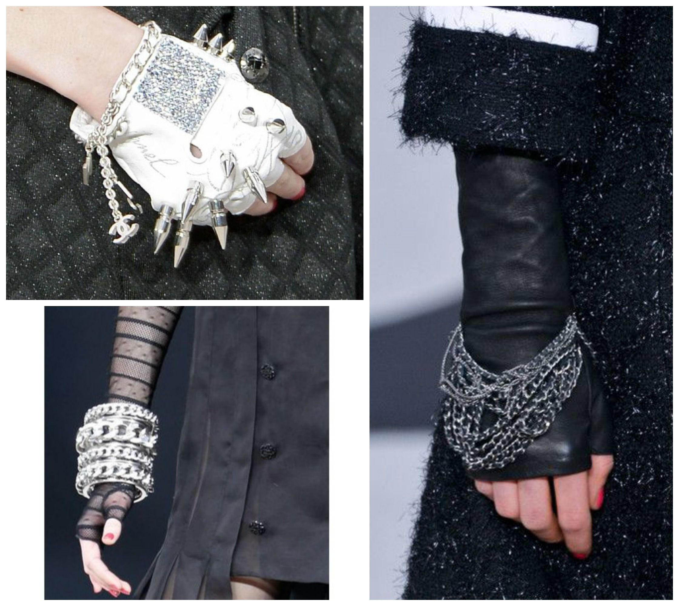 Chanel Gloves for Fall 2013-14 | gloves | Gloves, Leather ...