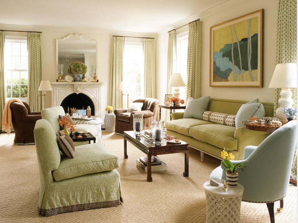 Blog Anna Matthews Interiors Living Room Green Green Rooms