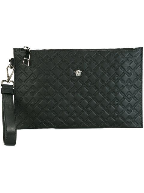 0e3ab7676d32 VERSACE Medusa Quilted Clutch.  versace  bags  shoulder bags  clutch   leather  hand bags