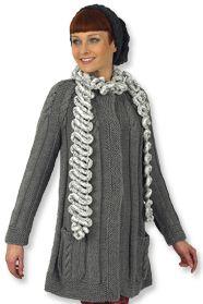 obrázek ručně pleteného modelu