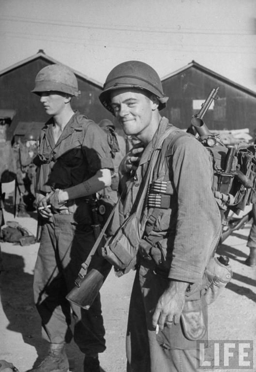 US Army troops in Korea, photographed by LIFE magazine ...