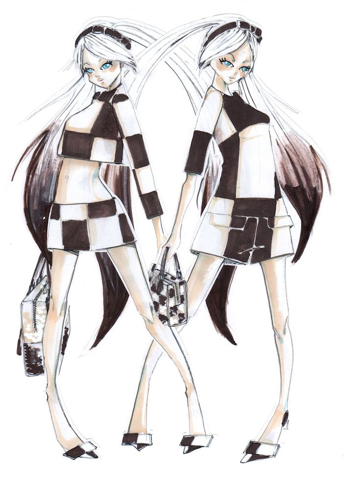 Marc Jacobs & Louis Vuitton Collaborate With Japanese Virtual Pop Star Hatsune Miku