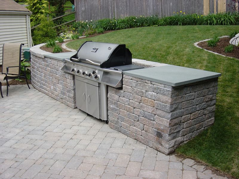 beautiful Built In Grills For Outdoor Kitchens #9: 1000+ images about For the Home on Pinterest | Gardens, Shade garden and Stainless steel