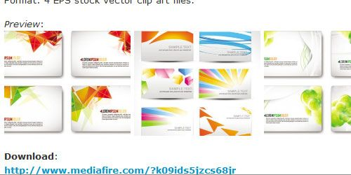 40 really useful free business card templates being different