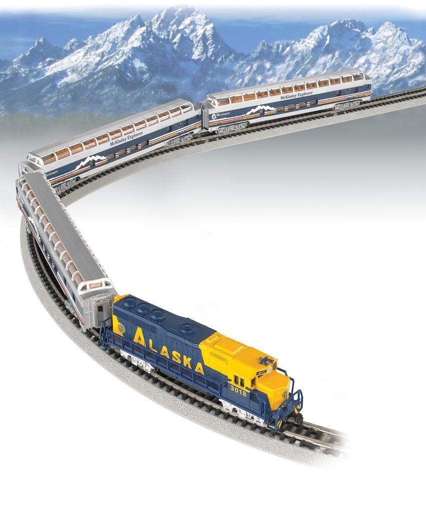 Bachmann n 24023 mckinley explorer train set alaska