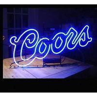 New Coors Light Beer Bar Neon Sign 17 X14 Neon Beer Signs Neon Signs Neon