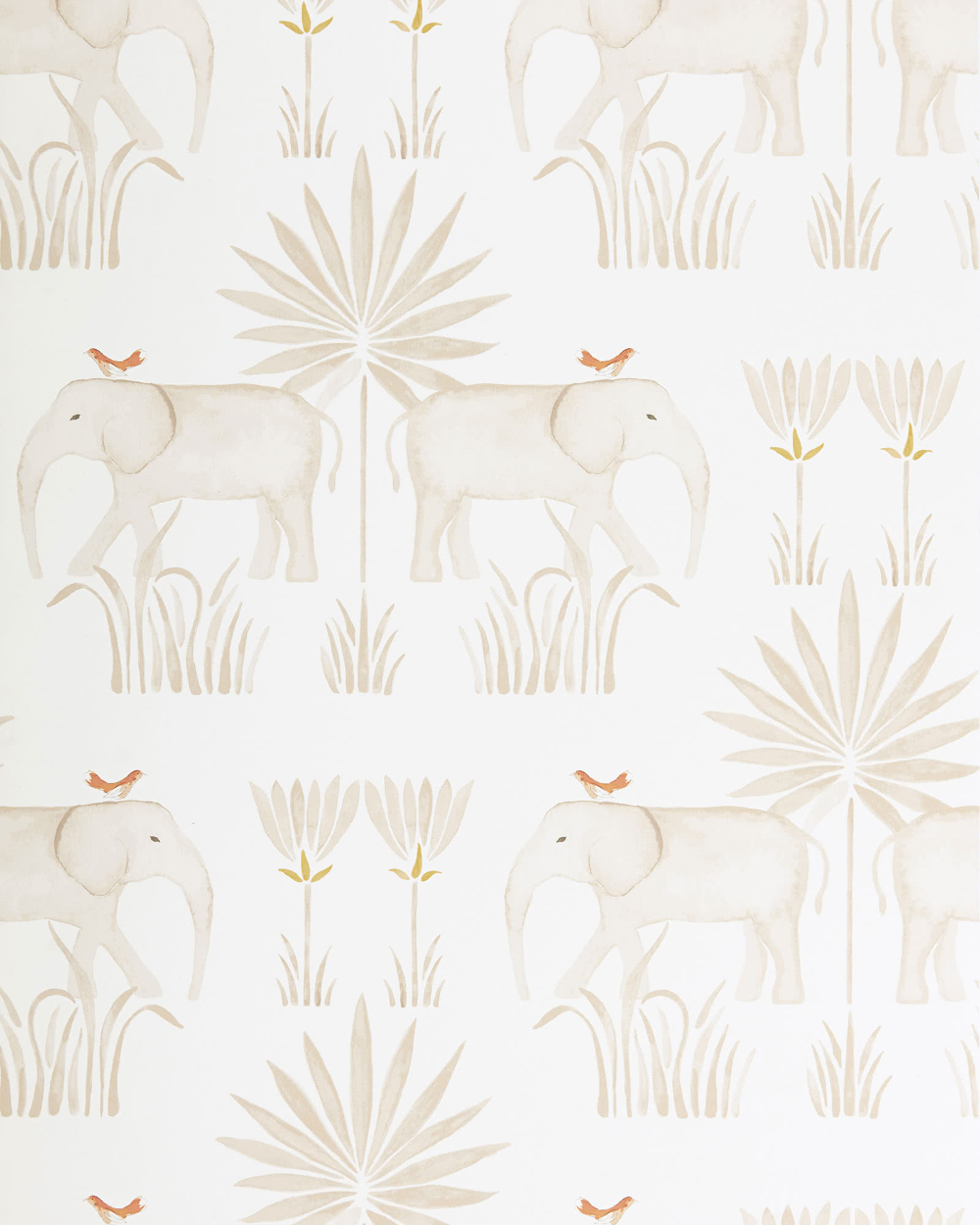 Kalahari Wallpaper In 2021 Serena And Lily Wallpaper Elephant Wallpaper Lily Wallpaper