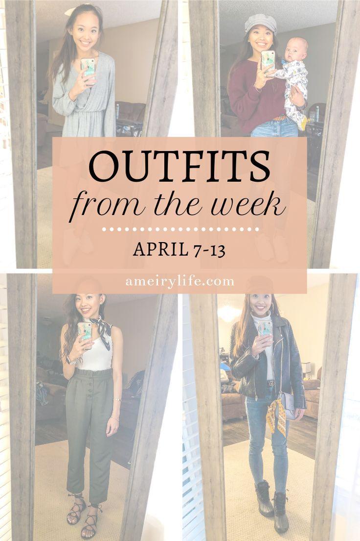 Rainy Day Outfit Outfits from the Week: April 7-13 Edition        私は先週から4つの春の衣装を共有しています!これには、雨の日の服装だけでなく、暖かい服と肌寒い服の両方が含まれます!クリックしてこれらの衣装とスタイルを購入してください! #スタイル #ファッション #春 #春のスタイル
