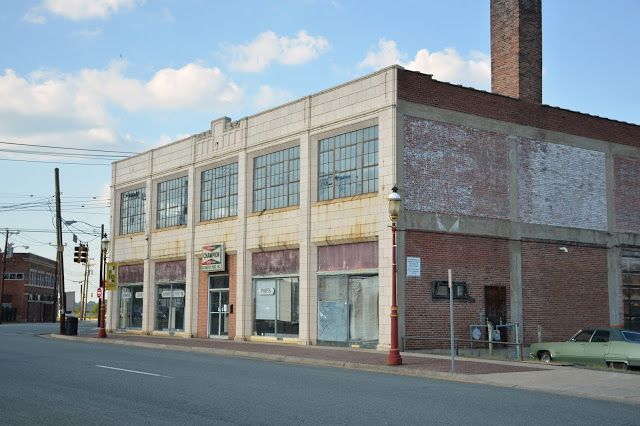 Abandoned Ac Delco Automotive Downtown Winston Salem North