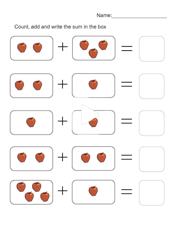 Printable Educational Worksheets For 4 Year Olds Printable