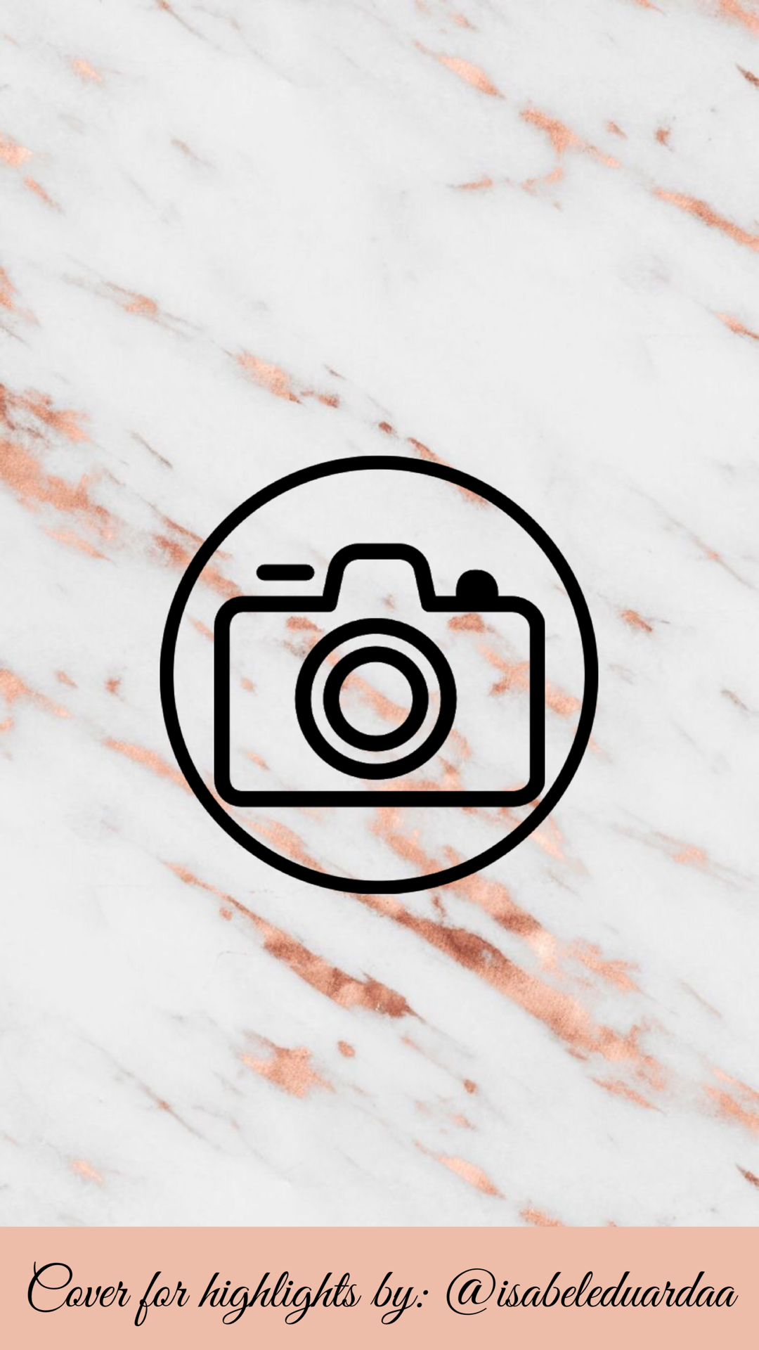 cover for highlights by isabeleduardaa Instagram logo