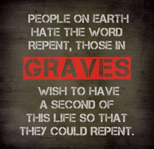 Repent. Astaghfirullah. May Allah us and guide us