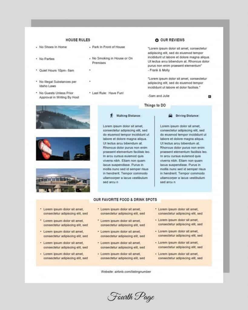 Airbnb House Manual Airbnb house, Airbnb rentals, House
