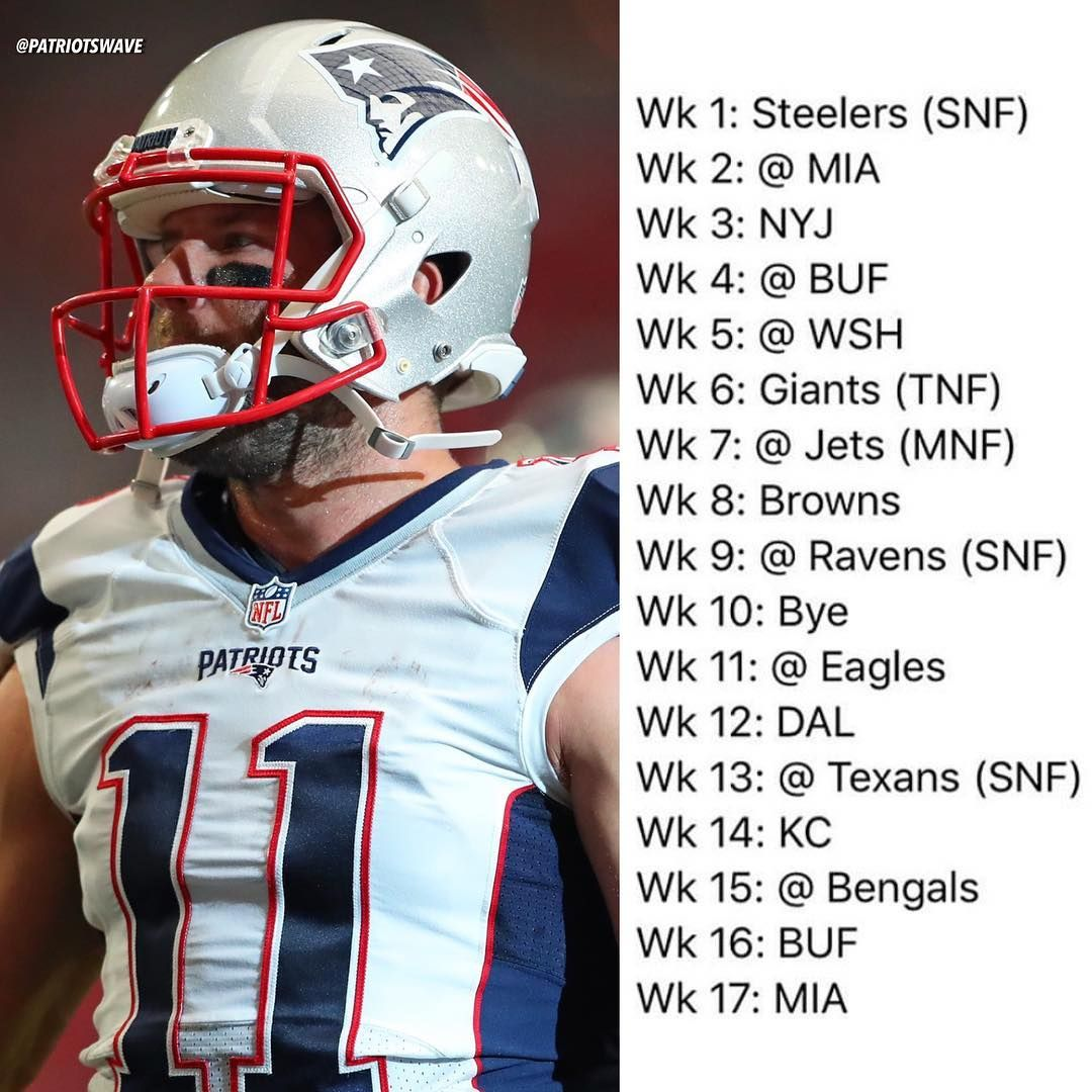 New England Patriots Schedule 2020.Pin On Patriots