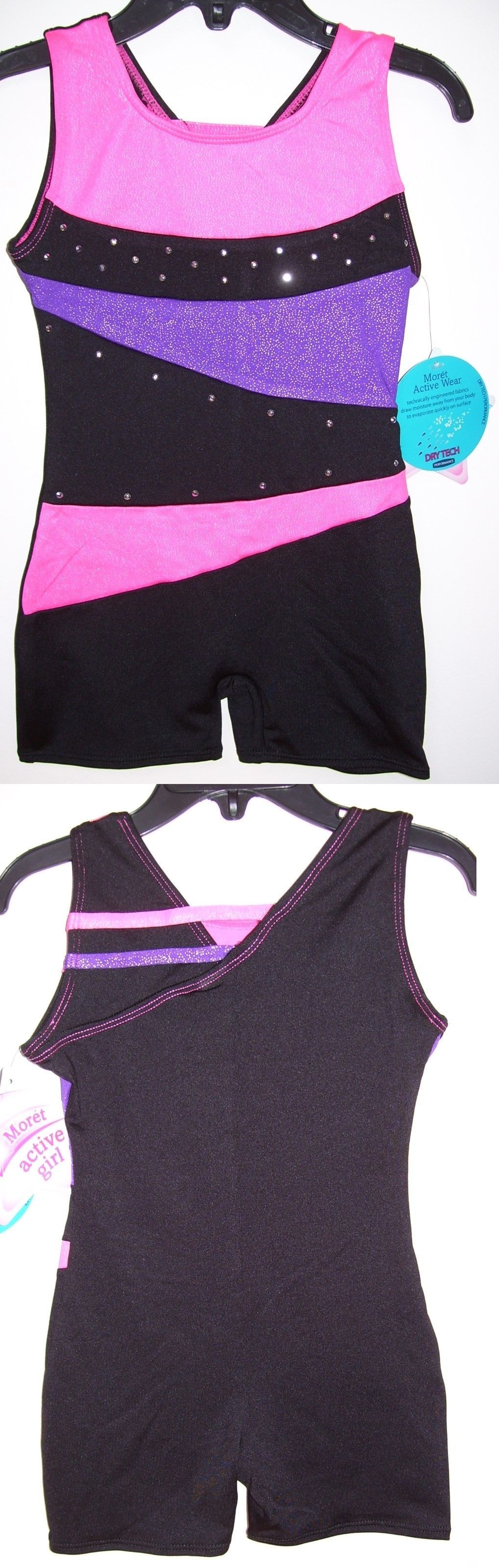 a9e40b909c6b Clothing 159167  Moret Active Girl Rainbow Triangle Gymnastic Tank ...