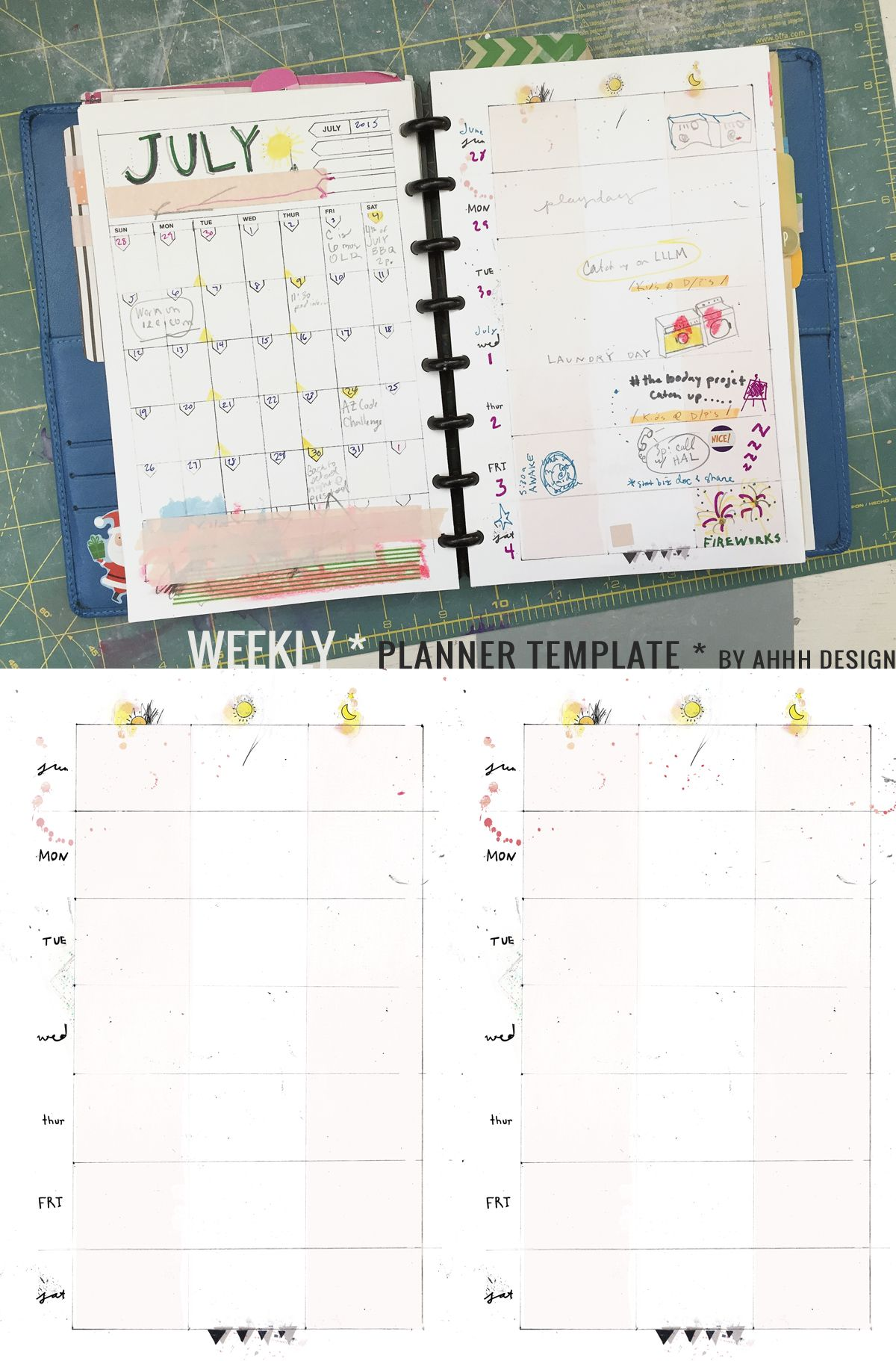a messy week | More Planners, Planner template and Weekly planner ...