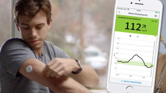 GlucoseSensor nutzt NFCFähigkeiten des iPhone