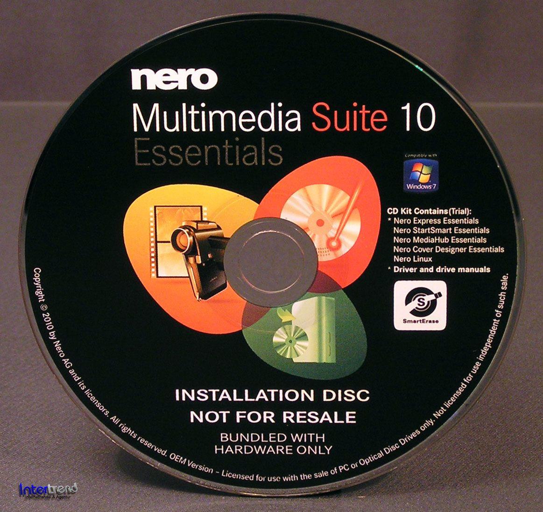 Nero multimedia suite 10 essentials
