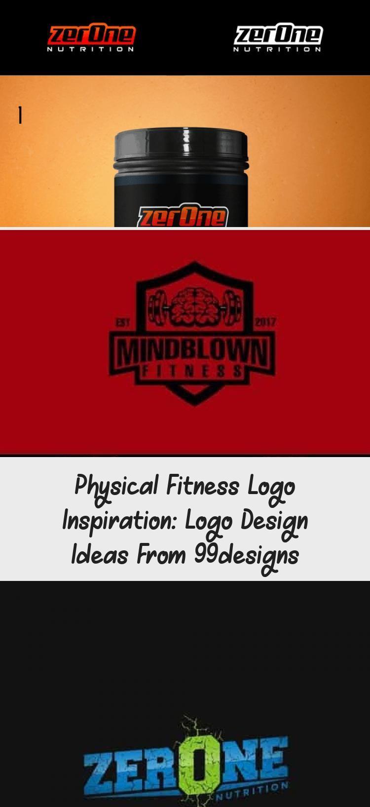 Physical Fitness Logo Inspiration: Logo Design Ideas from 99designs #logodesignT... -  Physical Fitn...