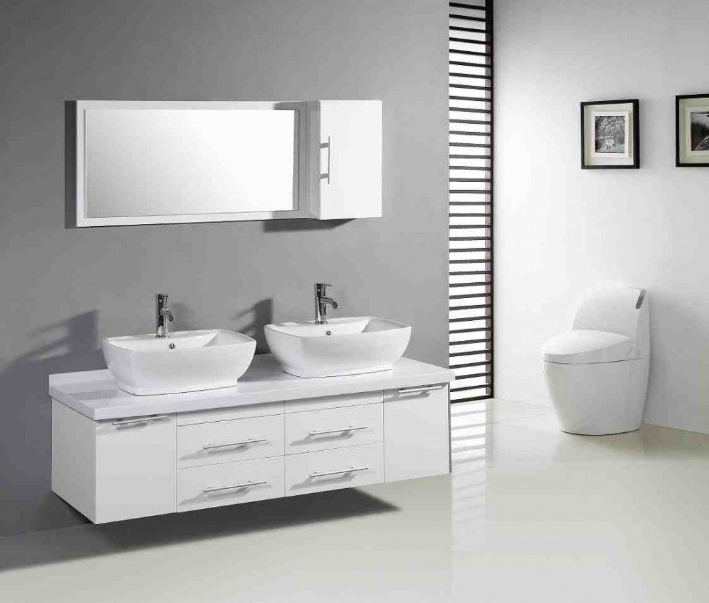 Paint Bathroom Cabinets Modern Bathroom Cabinets White Vanity
