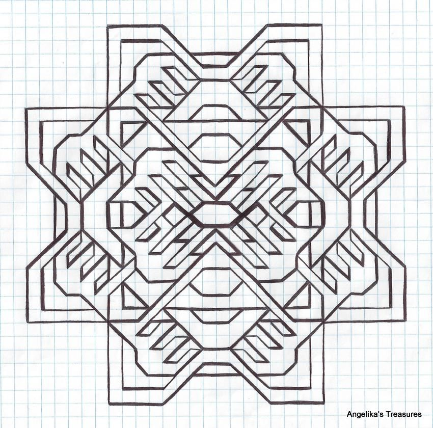 Graph Paper Art made by myself Graph paper Art-Drawings - graph paper word