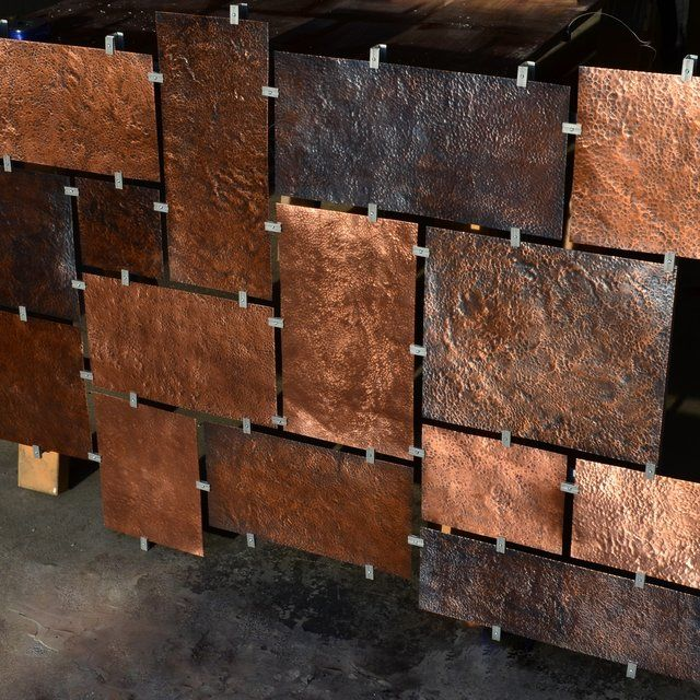 Custom Hammered Copper Wall Art Copper Wall Art Copper Wall Decorative Wall Panels