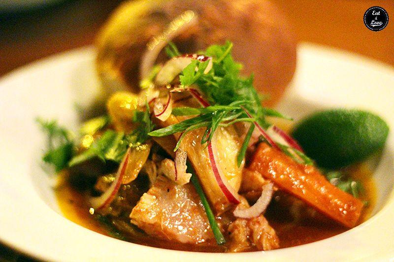 Escabeche filipino en Chifa restaurante Madrid