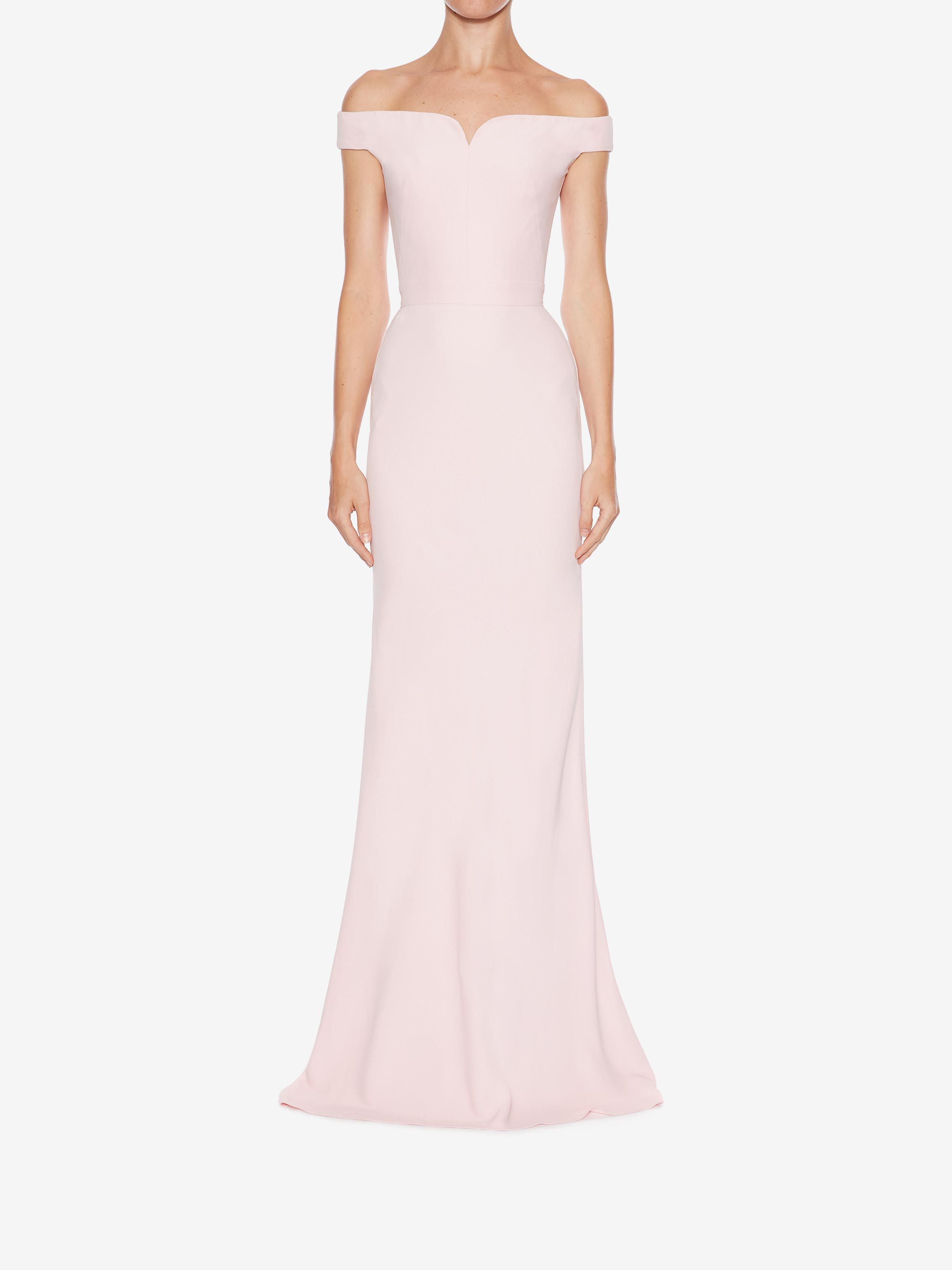 Pink dress in store  Shop Womenus Off The Shoulder Evening Dress from the official online
