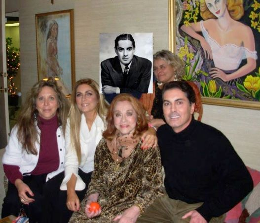 Tyrone Power S Family With Daryn Hinton Romina Power Linda