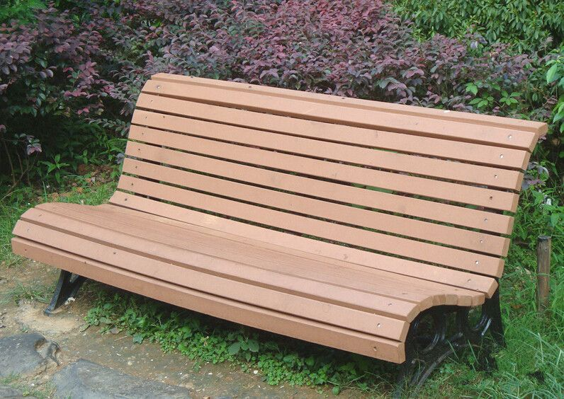 Peachy Wpc Bench Looks Like Natural Wood But Has Higher Quality Ibusinesslaw Wood Chair Design Ideas Ibusinesslaworg