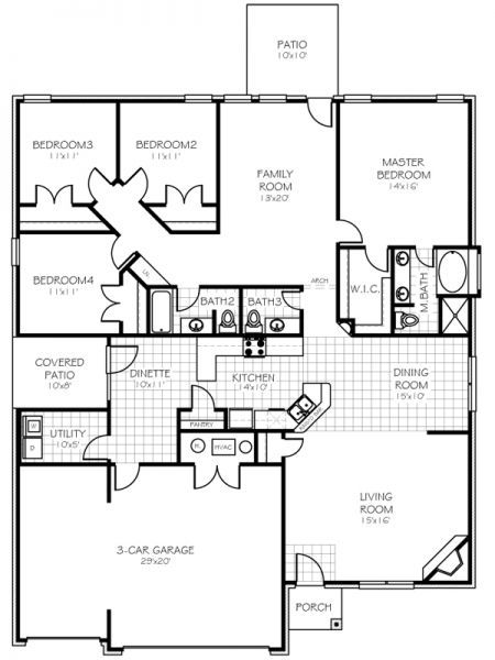 Love This Floor Plan Floor Plans Dream House Plans House Plans