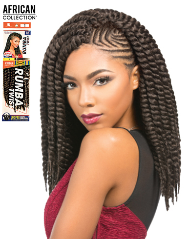 Bien connu Meches à tresser Rumba Twist African Collection Sensationnel  AR87