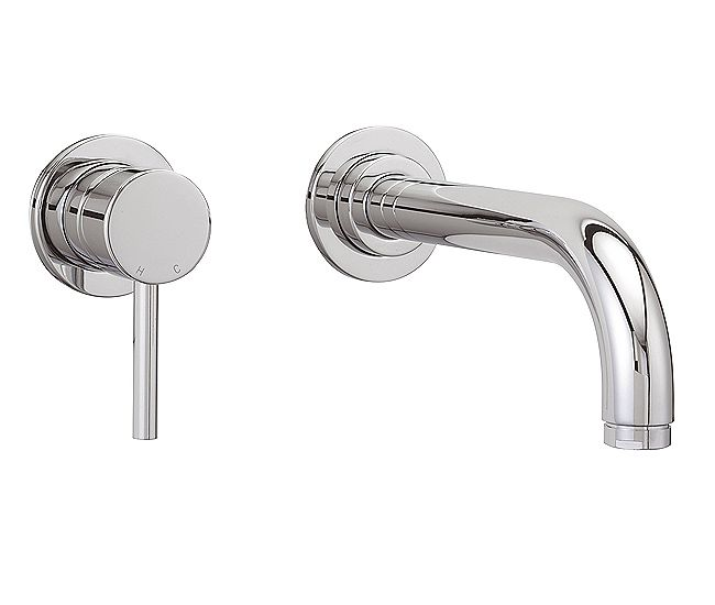 66 Sagittarius Ergo Wall Mounted Basin Mixer Tap El 325 C Wall Mounted Basins Wall Mounted Taps Basin Mixer Taps