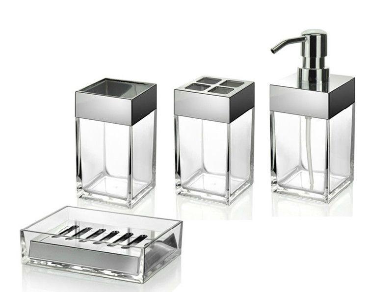 Bathroom Accessories Set Modern