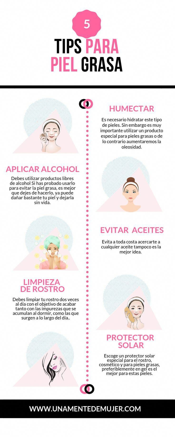 5 Tips + Maquillaje para la piel grasa