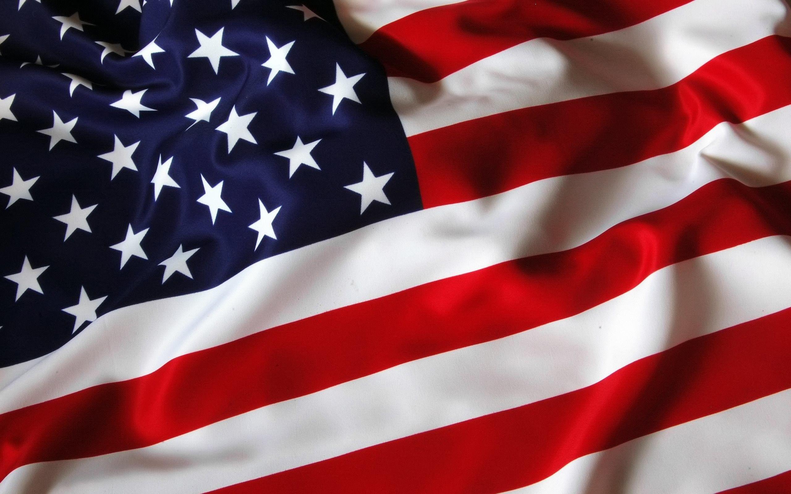 Widescreen High Resolution American Flag Wallpaper 2560x1600 For