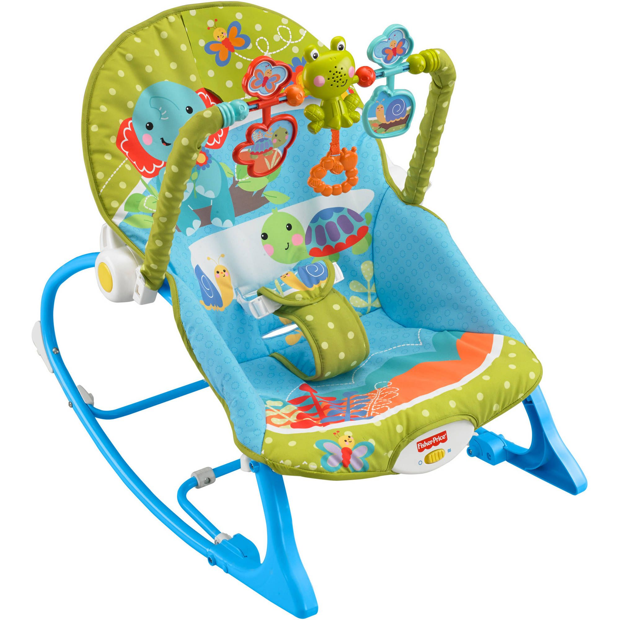 Fisher Price Infant to Toddler Rocker Elephant Friends for $25