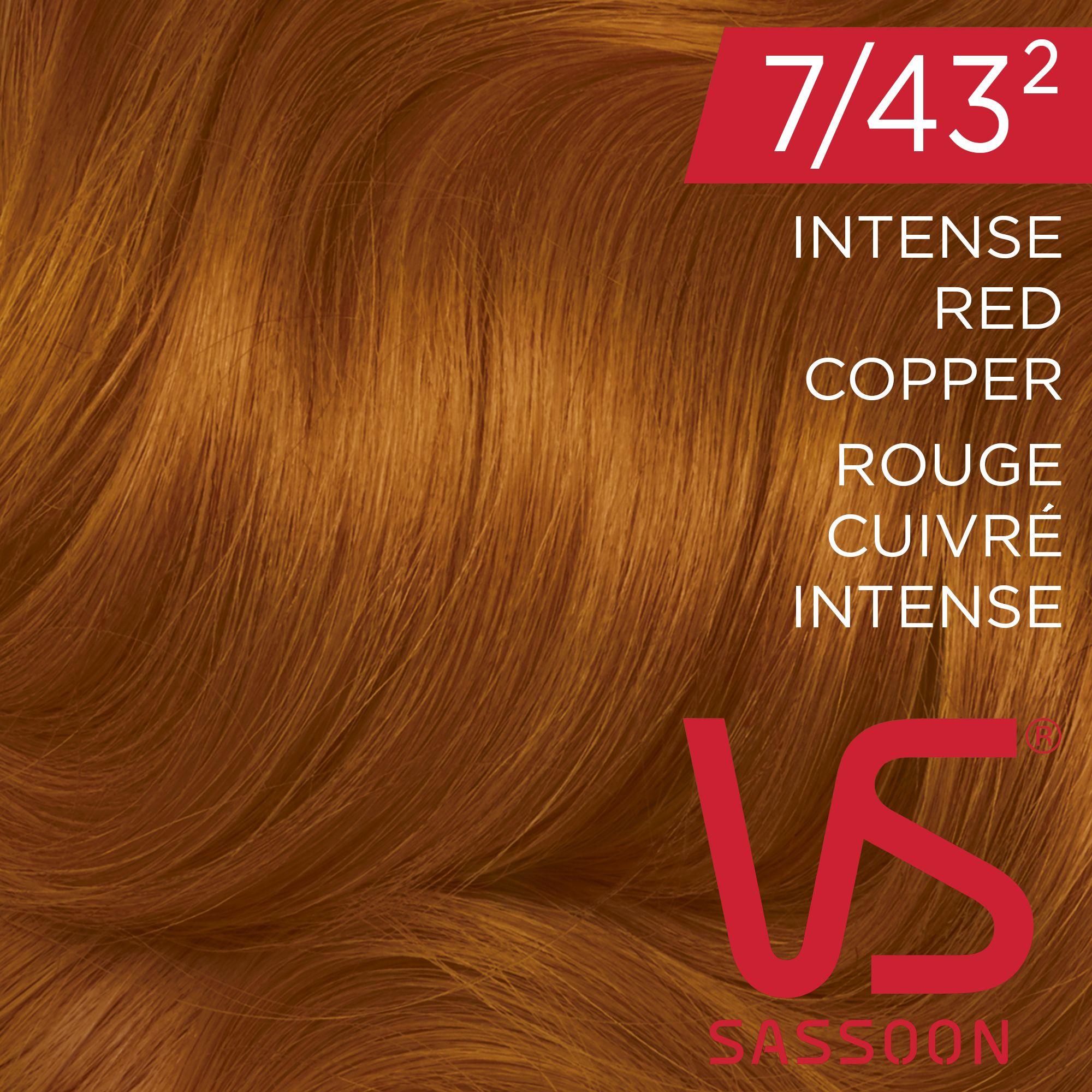 Diy Copper Hair Color Vidal Sassoon Salonist 7432 Intense Red