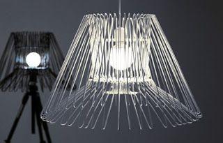 Lampara con perchas_hangeller lamp   Courtney Hunt y Alex Witko