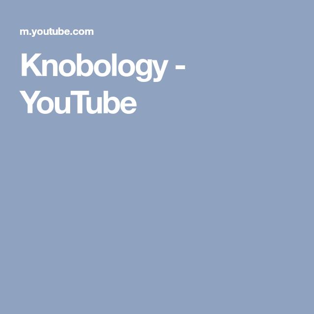 Knobology Youtube Dopler Pinterest Ultrasound