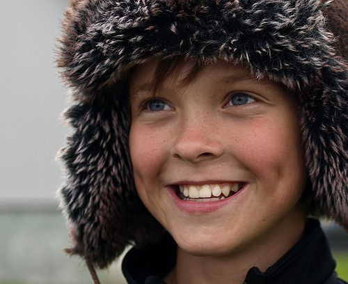 Iceland Happy boy. Kids have so much joy and imagination if adults don't screw that up!
