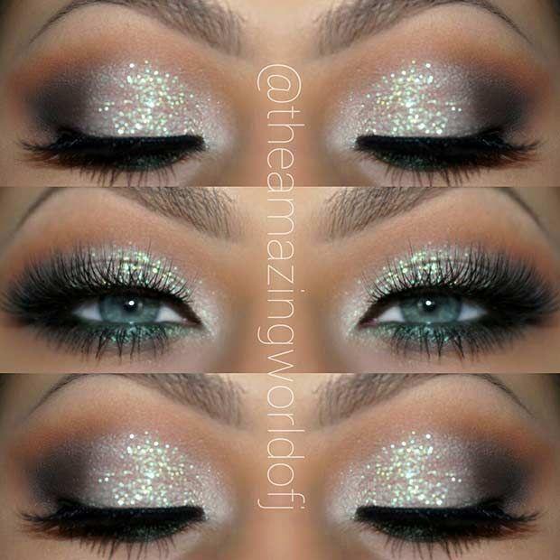Photo of 25 glamouröse Make-up-Ideen für Silvester