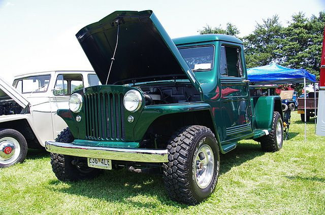 1949 Willys Overland Jeep Pickup Truck Jeep Pickup Truck