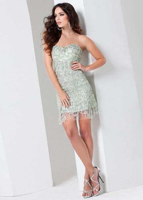 Short Fitted Homecoming Dresses 2015